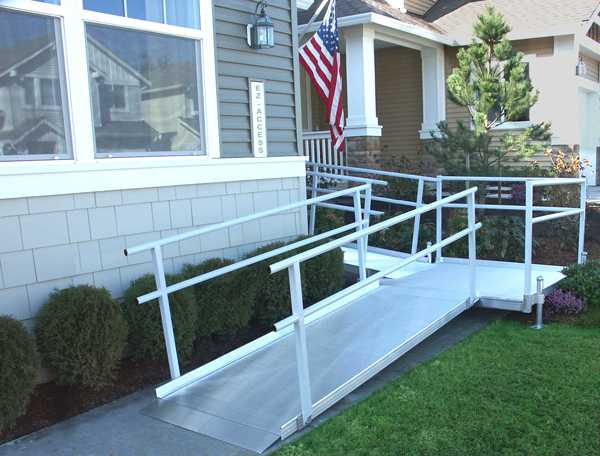 Ramps for wheelchairs for Handicap accessible mobile homes for sale